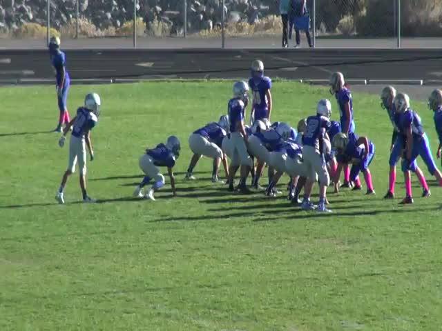 Sierra Youth Football Mcqueen Lancers Freshman Vs Syfl Reed Varsity Cody Ciglar Highlights