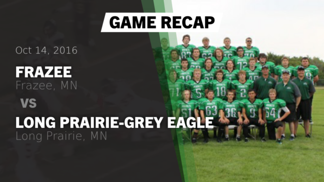 Boys Varsity Football - Frazee High School - Frazee, Minnesota