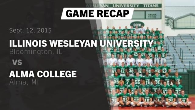 Mens Varsity Football - Illinois Wesleyan University